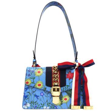 Gucci New Flora Small Sylvie Shoulder Bag