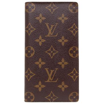 Louis Vuitton Monogram Porte Valeurs Cartes Credit Wallet