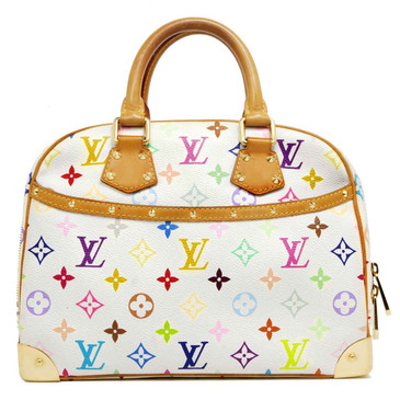 Louis Vuitton White Multicolor  Trouville
