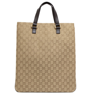 Gucci Metallic GG Plus Monogram Flat Tote
