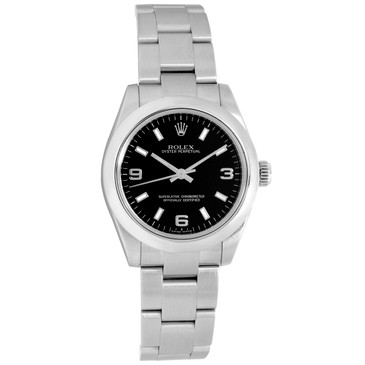 Rolex Stainless Steel 31mm Oyster Perpetual Ladies Watch 177200