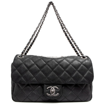 Chanel Black Paris Dallas Quilted Double Flap