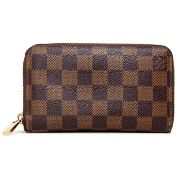 Louis Vuitton Damier Ebene Zippy Compact Wallet