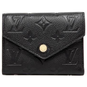 Louis Vuitton Noir Empreinte Victorine Wallet