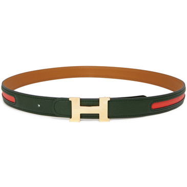 Hermes Rose Gold Mini Constance 24mm Belt