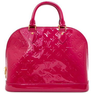 Louis Vuitton Rose Indien Vernis Alma  PM