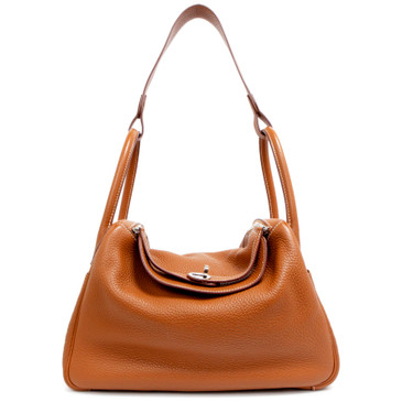 Hermes Gold Clemence Lindy 30