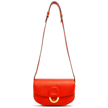 Hermes Rouge Tomate Evercolor Cherche-Midi Mini