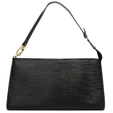 Louis Vuitton Black Epi Pochette Accessoires 21