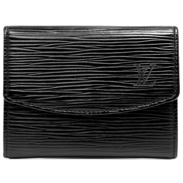 Louis Vuitton Black Epi Business Card Holder