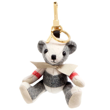 Burberry Cashmere House Check Thomas Bear Bag Charm