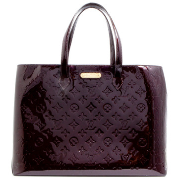 Louis Vuitton Amarante Vernis Wilshire MM