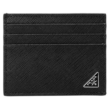 Prada Black Saffiano Card Holder