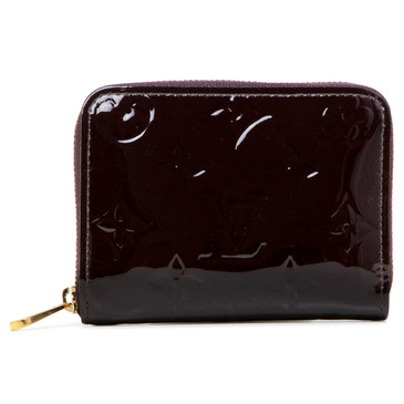 Louis Vuitton Amarante Vernis Zippy Coin Purse
