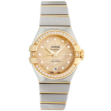 Omega Constellation Co-Axial Automatic 27mm Ladies Watch 123.25.27.20.58.002