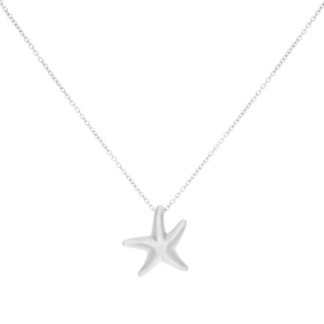 Tiffany & Co. Sterling Silver Starfish Pendant
