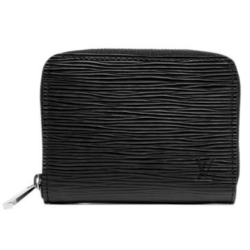 Louis Vuitton Black Epi Zippy Coin Purse