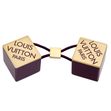Louis Vuitton Purple Resin Hair  Cube