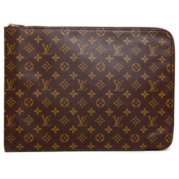 Louis Vuitton Monogram Poche Documents Case