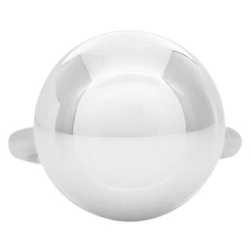 Tiffany & Co. Sterling Silver Hardwear Ball Ring