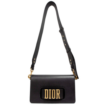 Dior Black Calfskin Dio(r)evolution Flap Bag