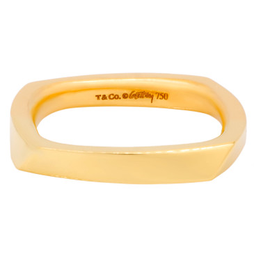 Tiffany & Co. 18K Yellow Gold Frank Gehry Torque Ring