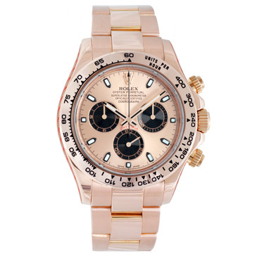Rolex 18K Everose Gold 40mm Cosmograph Daytona 116505