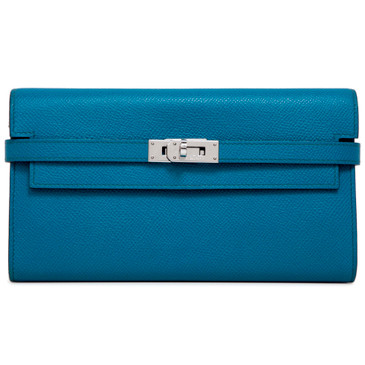 Hermes Colvert Epsom Kelly Longue Wallet