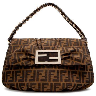 Fendi Zucca Mia Shoulder Bag