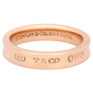 Tiffany & Co. Rubedo 1837  Narrow Band Ring
