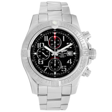 Breitling Stainless Steel Super Avenger II Chronograph A13371111B2A1