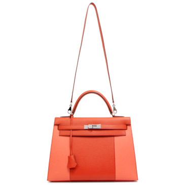 Hermes Bicolor Epsom Kelly Sellier 32