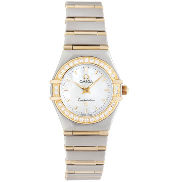 Omega Stainless Steel & 18K Constellation Ladies Watch 1267.70.00
