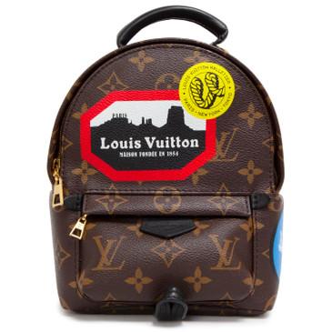 Louis Vuitton Monogram World Tour Palm Springs Mini Backpack