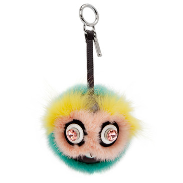 Fendi Dazzling Monster Bag Bug Charm