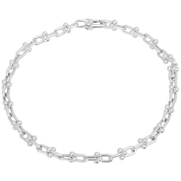 Tiffany & Co. Sterling Silver Micro Link Bracelet