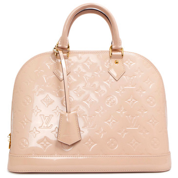 Louis Vuitton Rose Angelique Vernis Alma PM