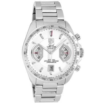 Tag Heuer Stainless Steel Grand Carrera Chronograph CAV511B