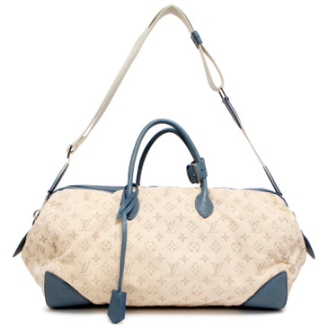 Louis Vuitton Monogram Denim Speedy Round GM