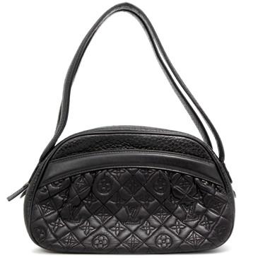 Louis Vuitton Black Lambskin Klara Vienna