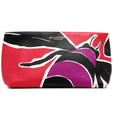 Burberry Prorsum Bee Printed Clutch