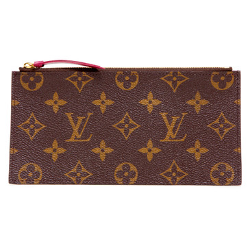 Louis Vuitton Fuchsia Monogram Felicie Zipped Insert