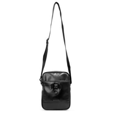 Saint Laurent Black Calfskin Rivington Race Messenger Bag
