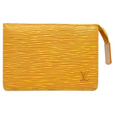 Louis Vuitton Yellow Epi Toiletry Pouch  15