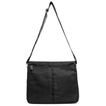 Prada Black Tessuto Messenger Bag