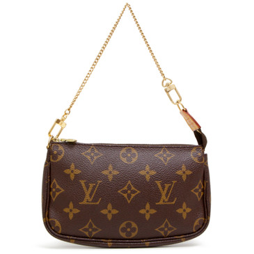 Louis Vuitton Monogram Petit Bucket Pochette
