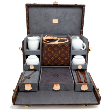 Louis Vuitton Monogram Necessaire a The Tea Set