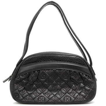 Louis Vuitton Black Lambskin Klara  Vienna