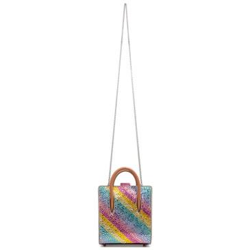 Christian Louboutin Rainbow Crystal Nano Paloma