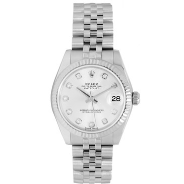Rolex Stainless Steel Diamond Dial Datejust 31 178274